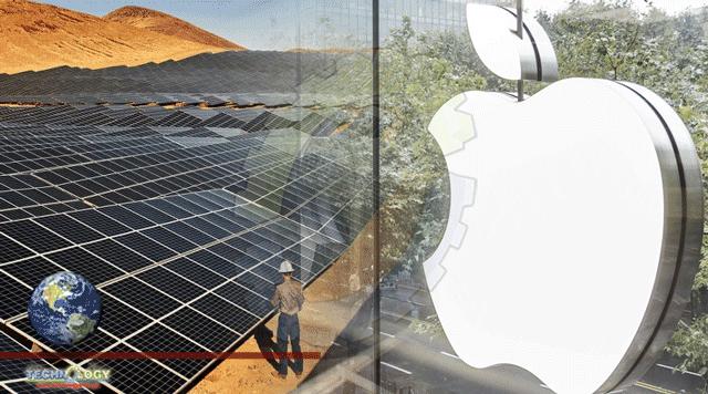 Apple Spends $4.7 Billion Green Bond to help create Clean Power