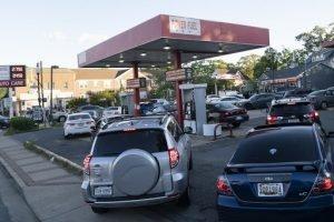 Fuel Shortage in Gas Station in Virginia